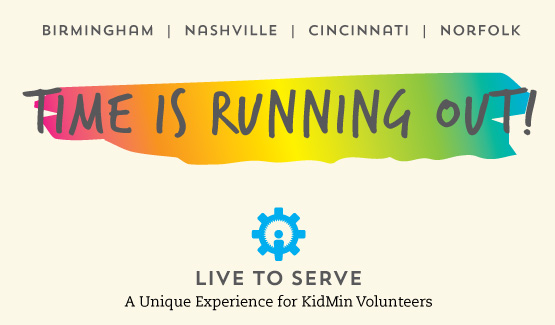 Live to Serve: Invest in your Volunteers!