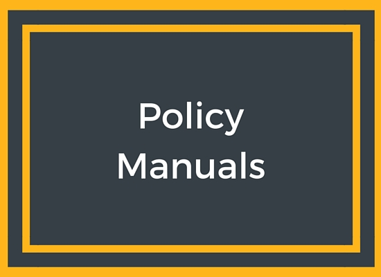 Policy Manuals