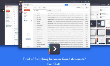 Multiple Google/Gmail Accounts? Try Shift!