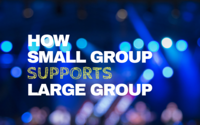 How Small Groups Help Large Group