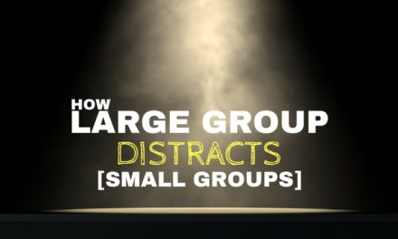 How Large Group Can Distract from Small Groups