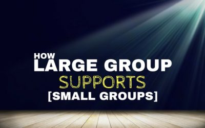 How Large Group Can Support Small Groups