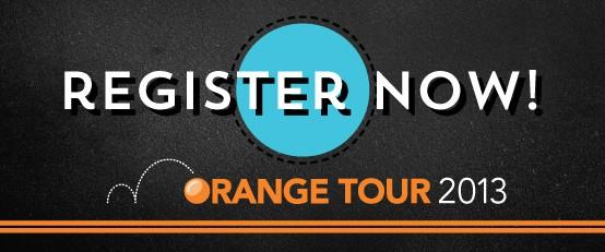2013 Orange Tour
